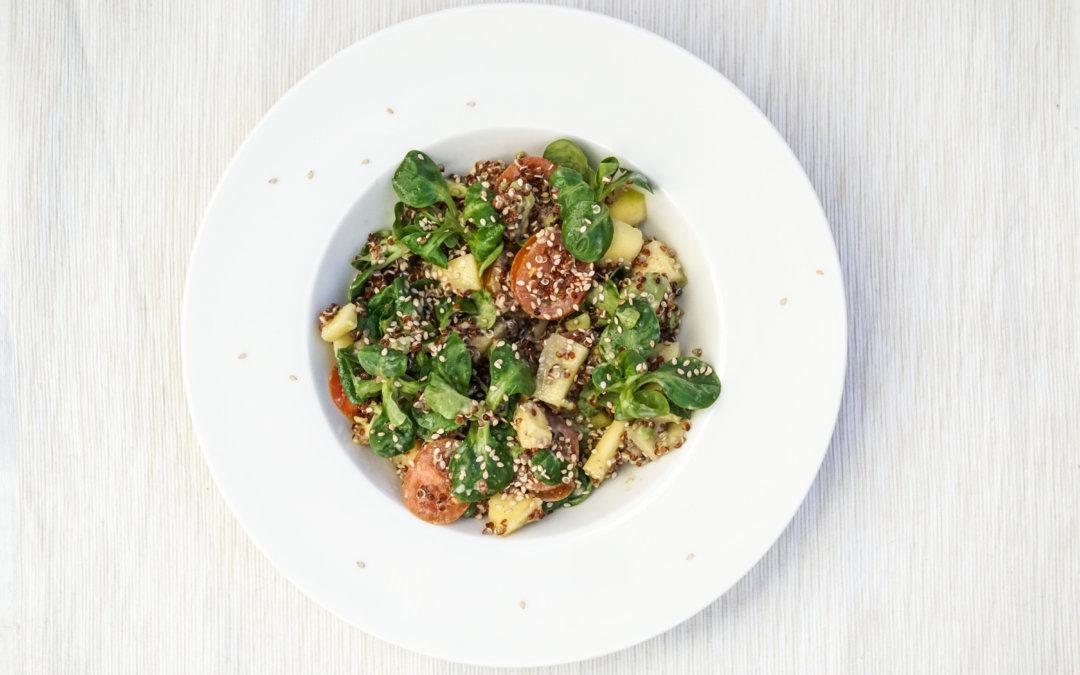 Rezept| Quinoa Salat