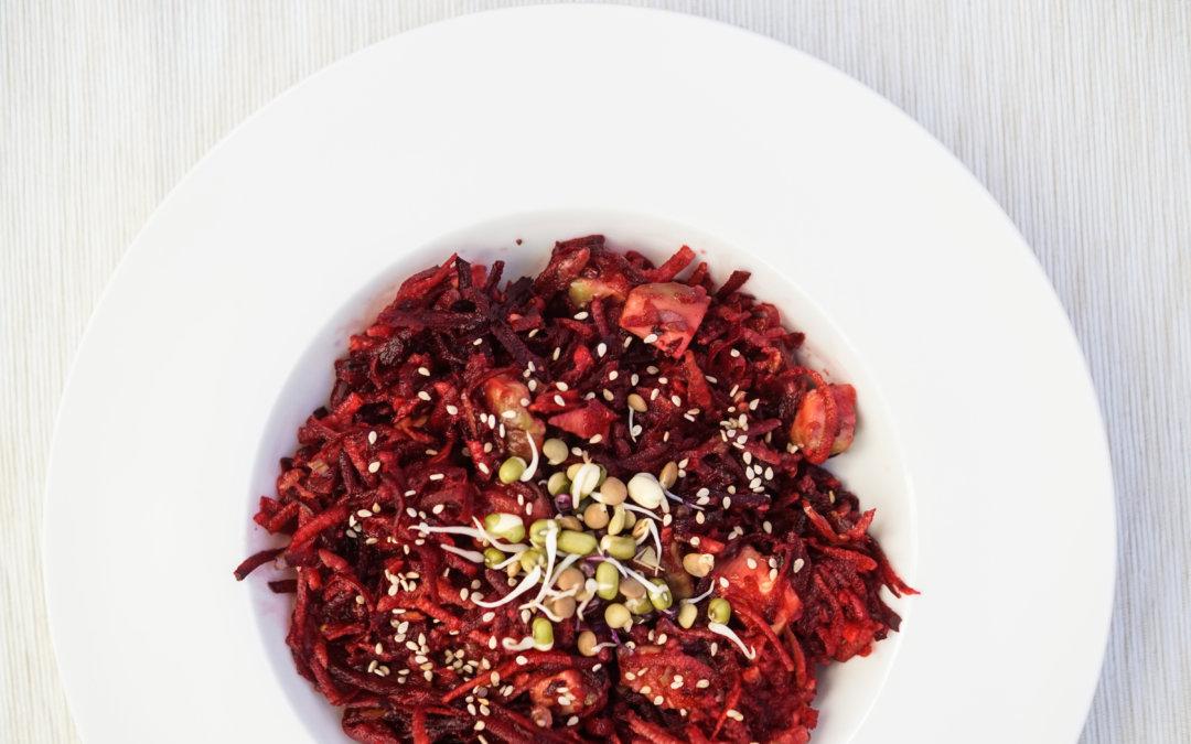 Rezept| Rote Beete Glückssalat