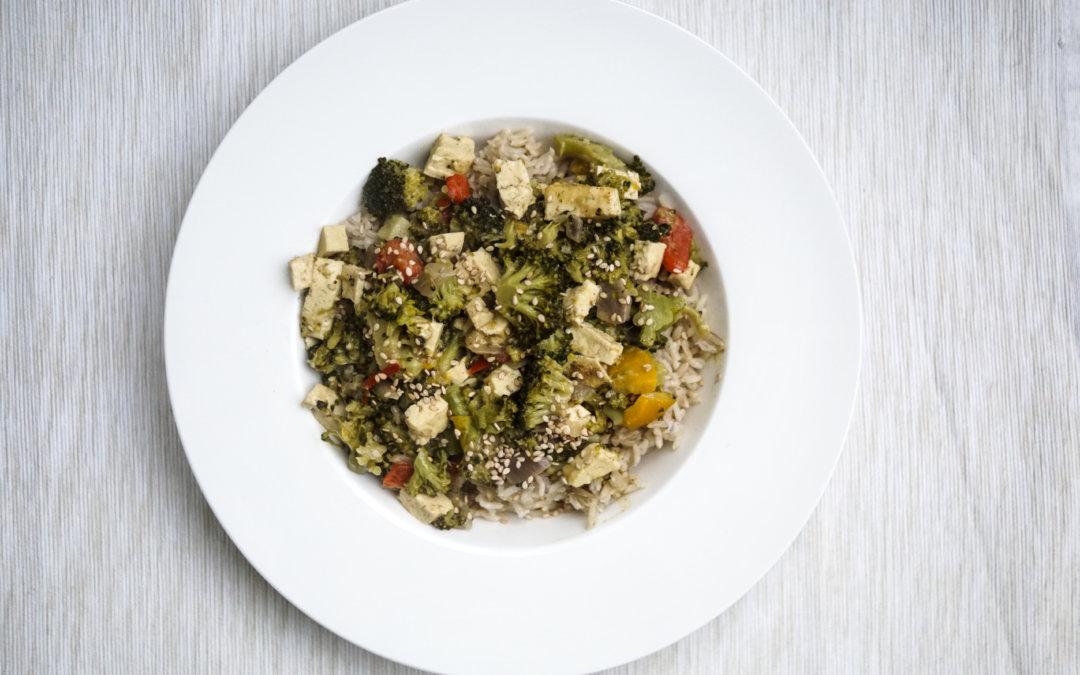 Rezept | buntes Gemüse Curry