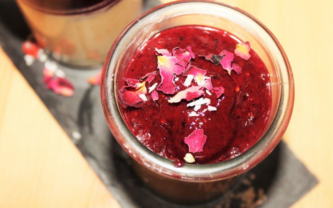 Rezept   Dessert Vanille Traum mit Beeren